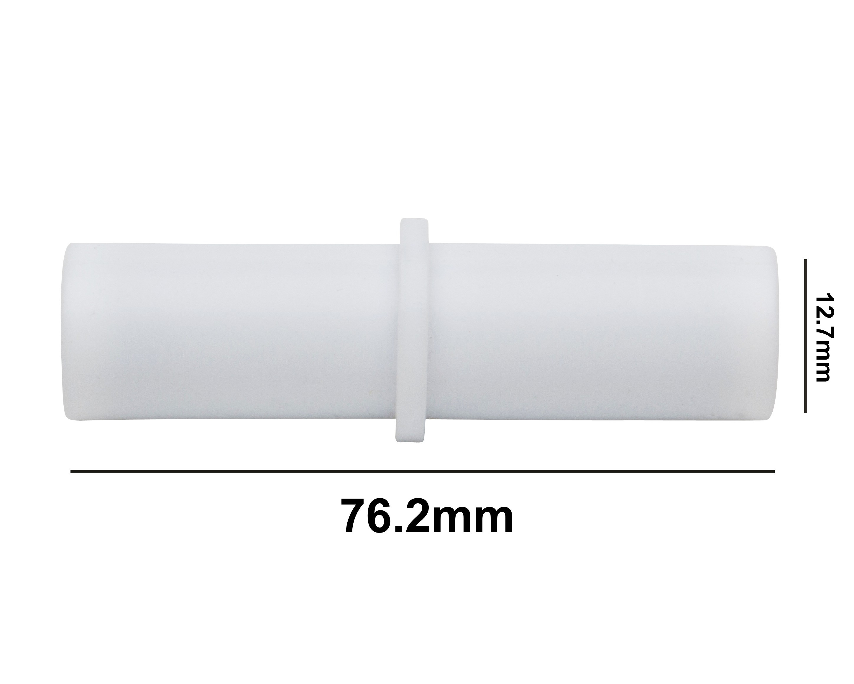 SP Bel-Art Spinbar Teflon Cylindrical Magnetic Stirring Bar; 76.2 x 12.7mm, White