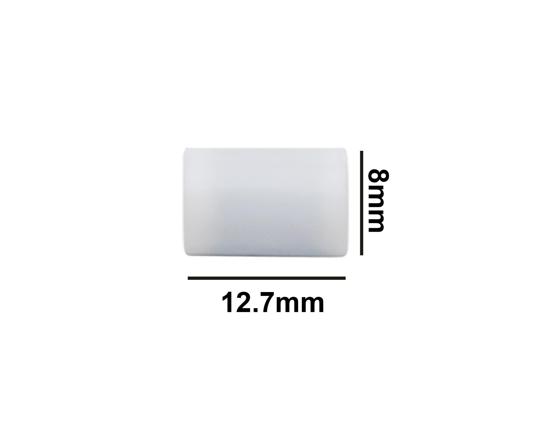 SP Bel-Art Spinbar Teflon Cylindrical Magnetic Stirring Bar; 12.7 x 8mm, White
