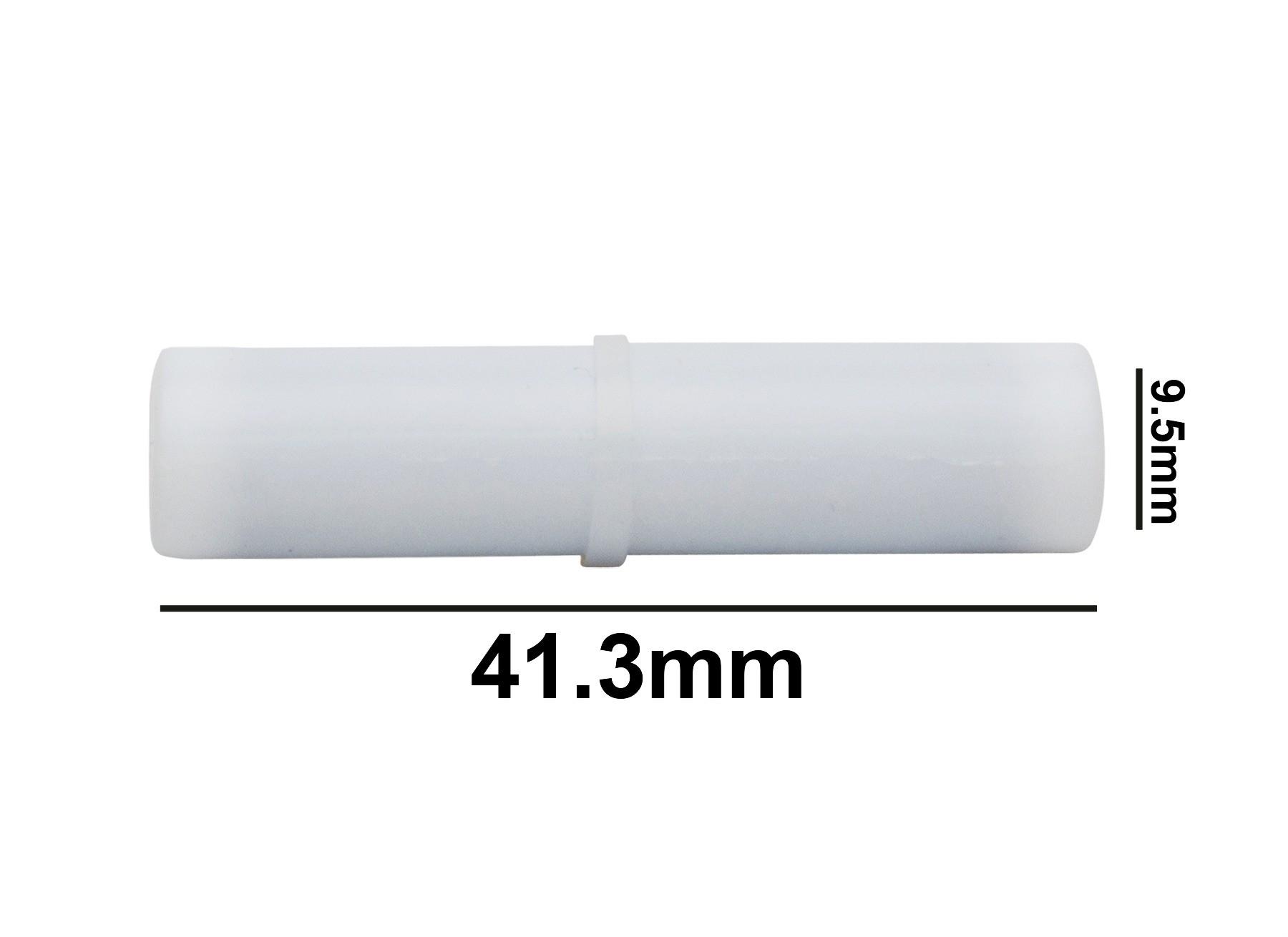 SP Bel-Art Spinbar Teflon Cylindrical Magnetic Stirring Bar; 41.3 x 9.5mm, White