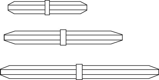 SP Bel-Art Spinpak Teflon Octagon Magnetic Stirring Bar Assortment (Pack of 6)