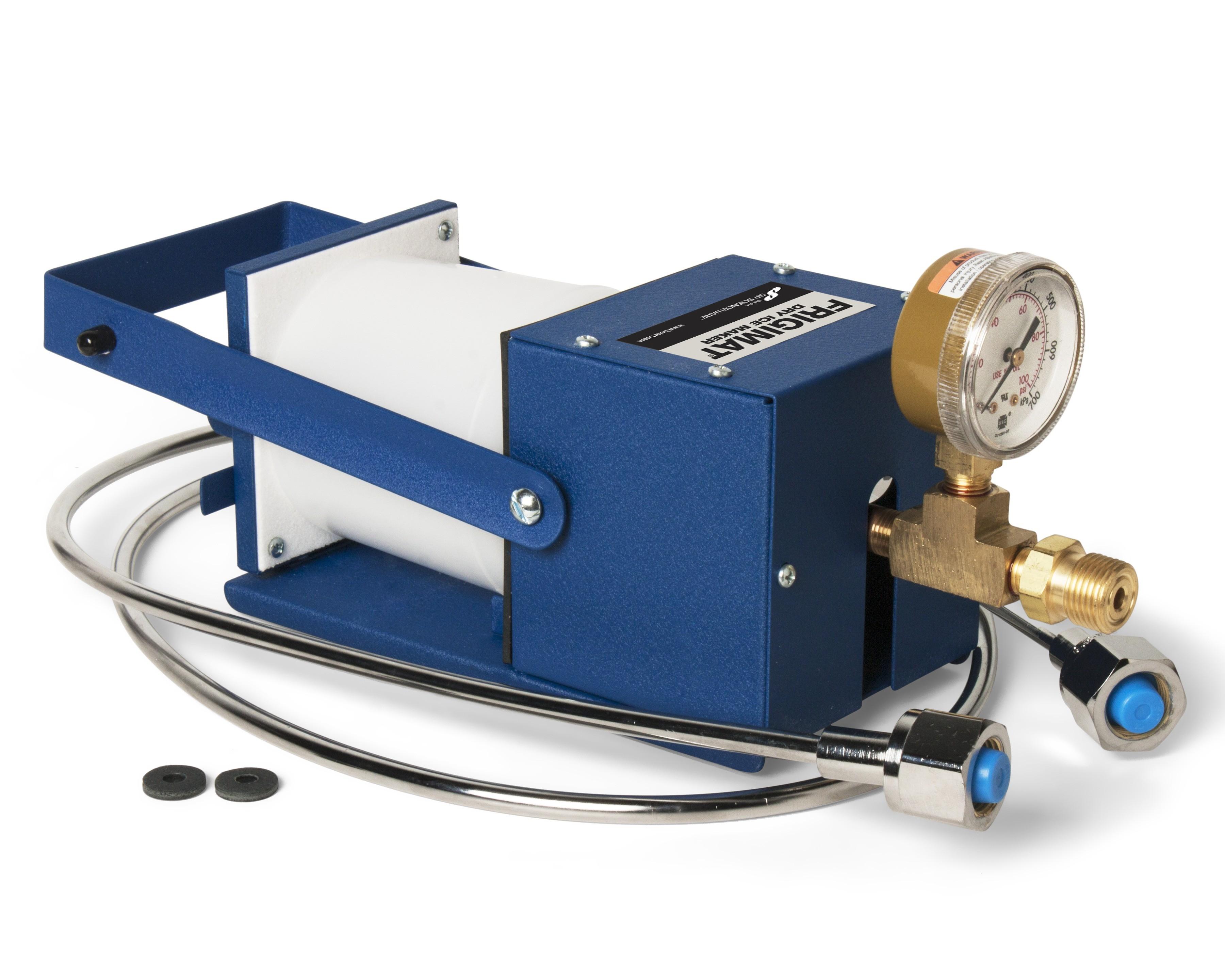 SP Bel-Art Economy Frigimat Dry Ice Maker; Japanese Model, 14¾ x 5½ x 6 in.