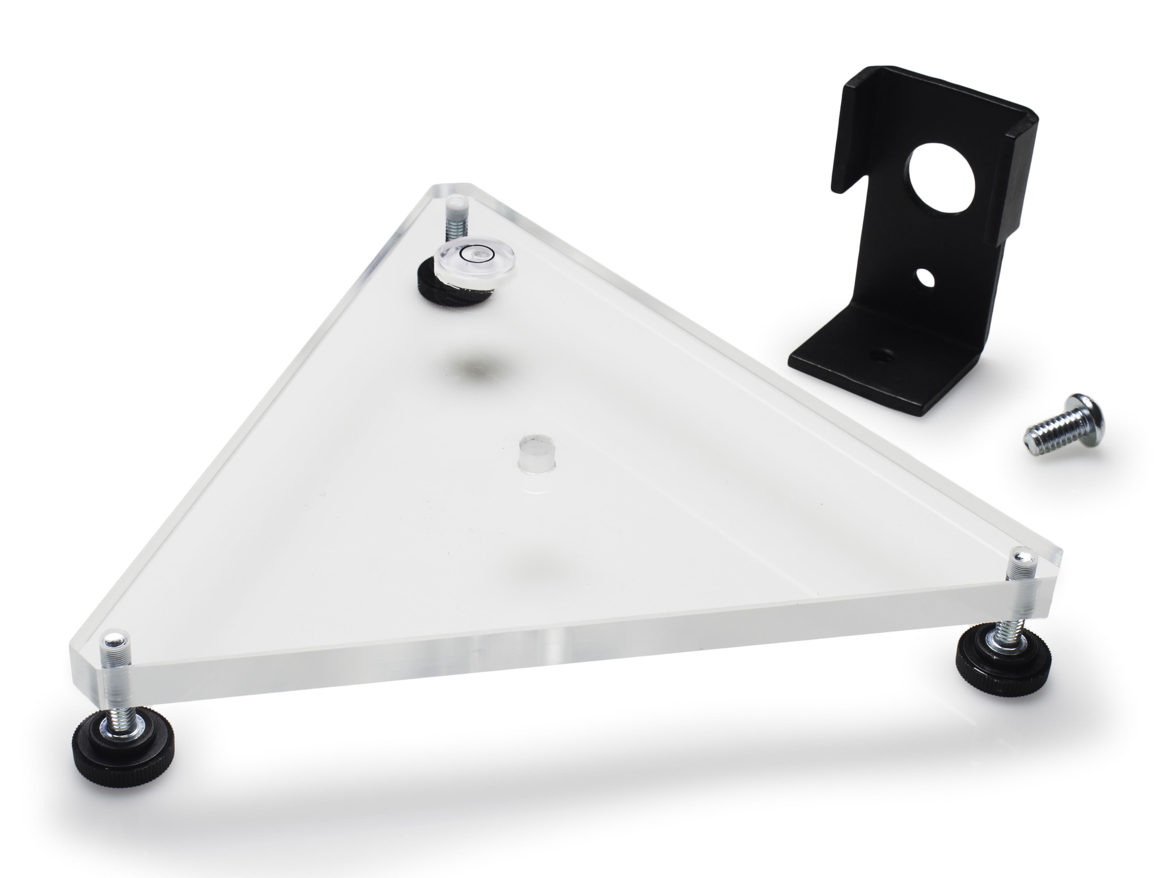 SP Bel-Art Leveling Base Kit for Mounted Flowmeters