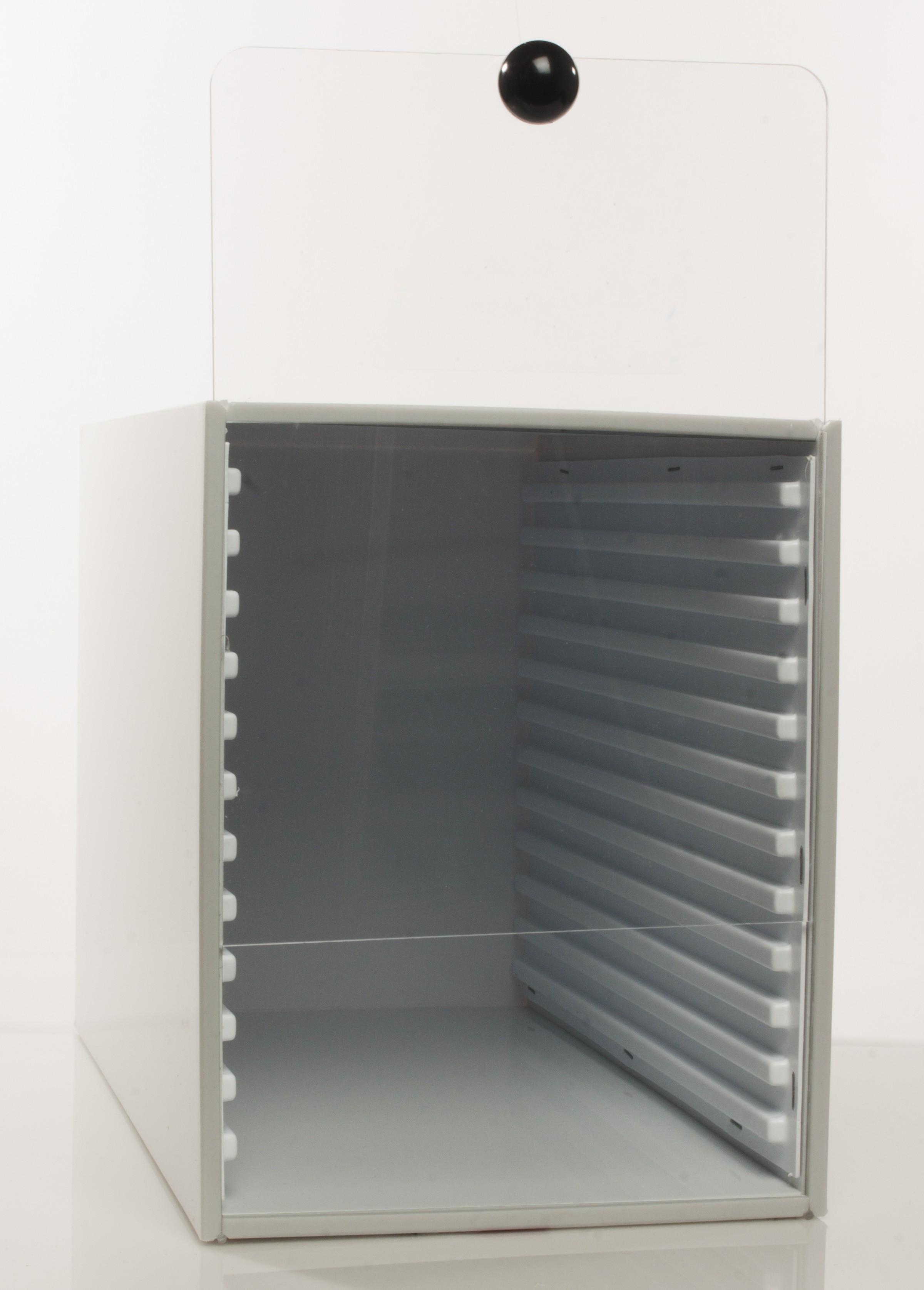 Bel Art Microscope Slide Tray Cabinet 12 Trays 240