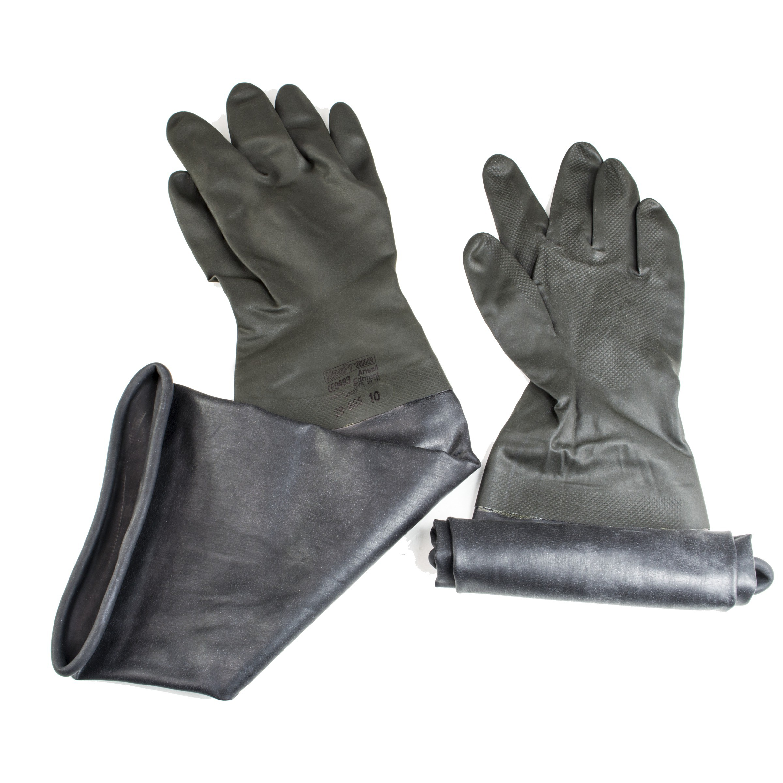 SP Bel-Art Neoprene Gloves; Size 10, For 6 in. Glove Ports (Pair)