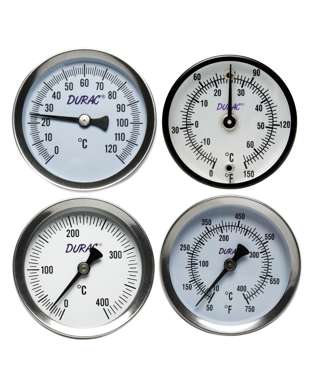 H-B DURAC Bi-Metallic Surface Temperature Thermometers