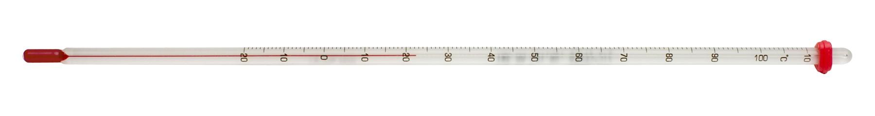 SP Bel-Art, H-B DURAC General Purpose Liquid-In-Glass Laboratory Thermometer; -20 to 150C, 76mm Immersion, Organic Liquid Fill