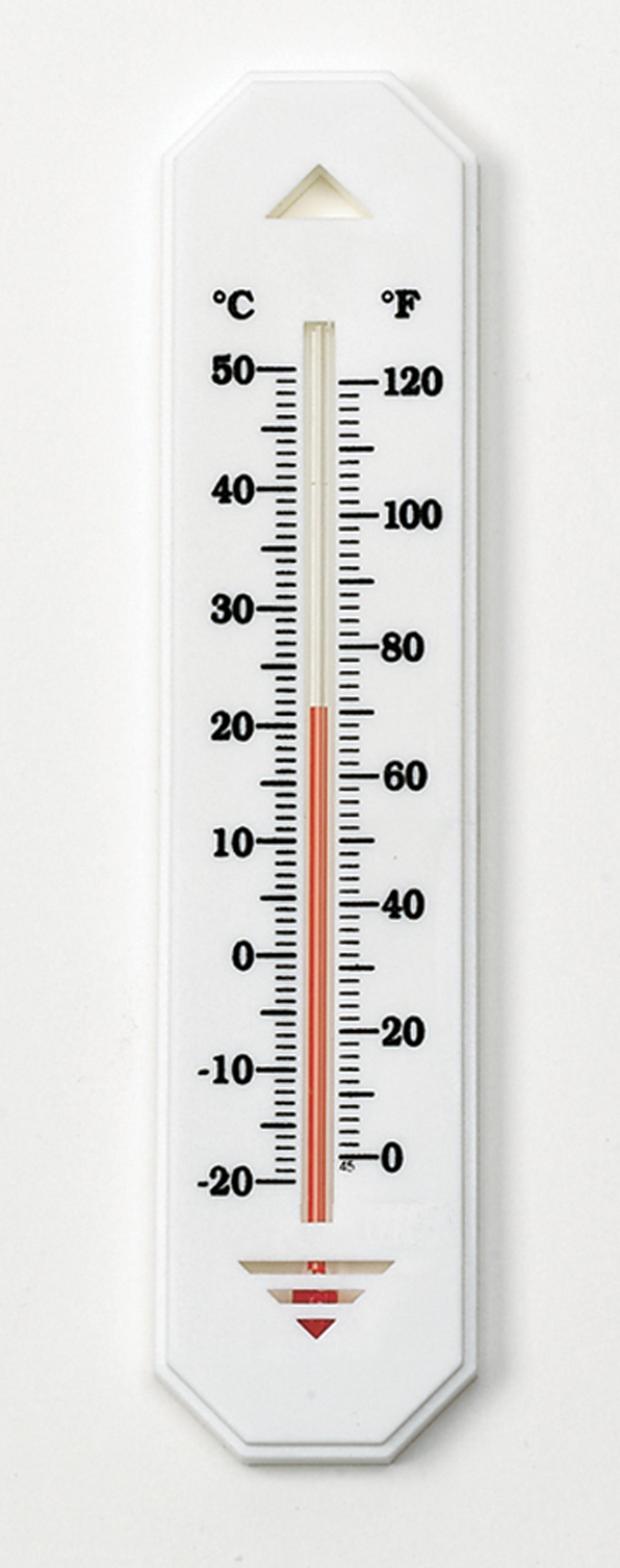 H-B DURAC Liquid-In-Glass Wall Thermometer; Organic Liquid Fill