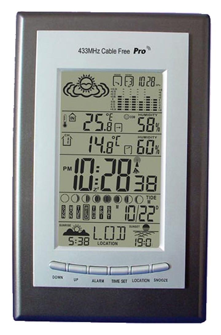 SP Bel-Art, H-B DURAC Weather Station with Animation Forecast, U.S. Model