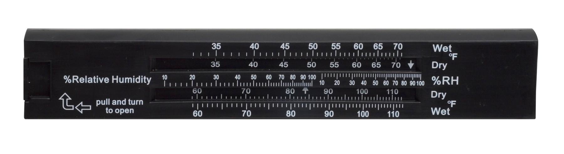 H-B DURAC Compact Sling Psychrometer
