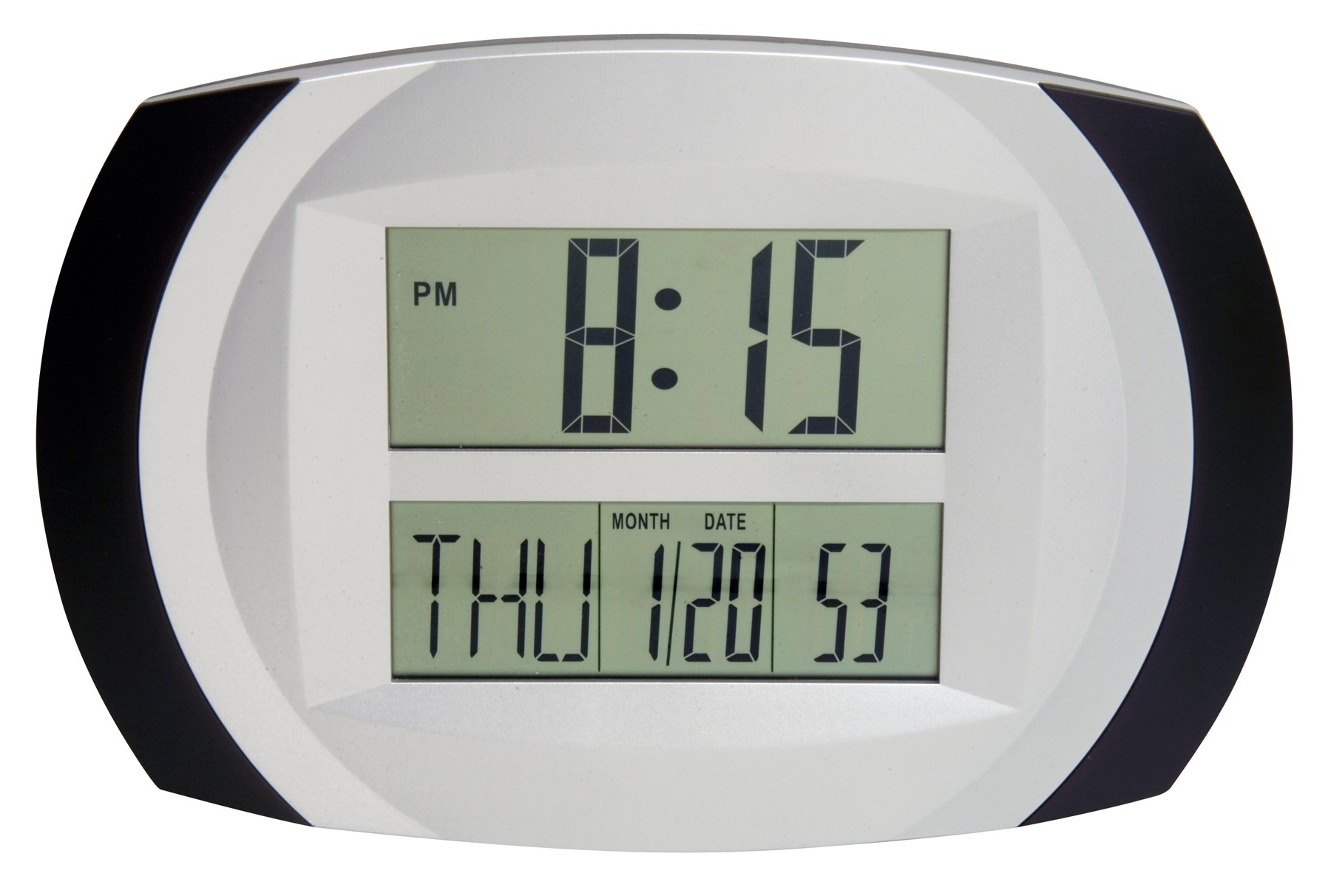 SP Bel-Art, H-B DURAC Multi-Function Digital Clock with Calendar, 0 to 50C Thermometer and Alarm