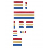 Color Micro (Flea) Spinbar Magnetic Stirring Bars
