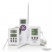 H-B DURAC Calibrated Electronic Thermometers with Stainless Steel Probe
