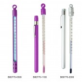 H-B DURAC Plus Pocket Liquid-In-Glass Thermometers, Organic Liquid Fill