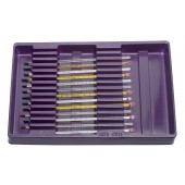 H-B Instrument Angled Liquid-in-Glass Thermometer Storage Trays