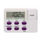 H-B DURAC Single Channel Electronic Timer with Memory and Clock and Certificate of Calibration