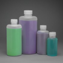 Precisionware Narrow-Mouth Bottles – High-Density Polyethylene