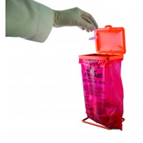 Poxygrid® Bench-Top Biohazard Bag Holder Kit
