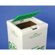 Cover for Glass Disposal Carton