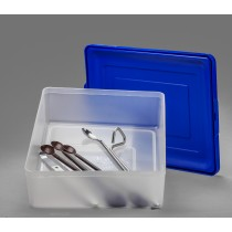 Multipurpose Tray with Snap-On Lid