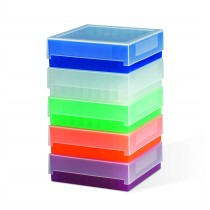 81-place Polypropylene Freezer Storage Boxes
