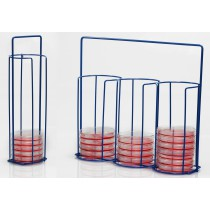 Poxygrid 100mm Petri Dish Carrying Racks
