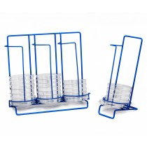 Poxygrid 100mm Petri Dish Dispensing Racks