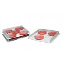 Stackable Petri Dish Incubation Tray