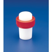 Safe-Lab Solid Teflon PTFE Stoppers for Tapered Joints