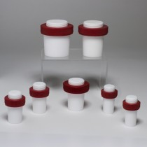 Safe-Lab Hollow Teflon PTFE Stoppers for Tapered Joints
