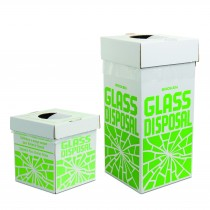 Disposal Cartons for Glass