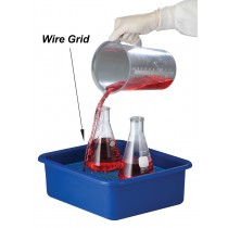 Spill Containment Tray with Grid