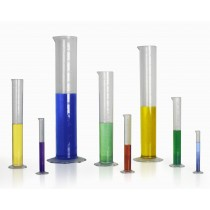 Clear Graduated Cylinders