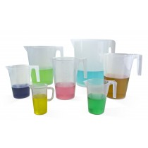 Tall Form Graduated Pitchers - Polypropylene