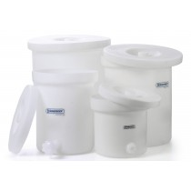 Polly-Crock Plastic Tanks with Lids