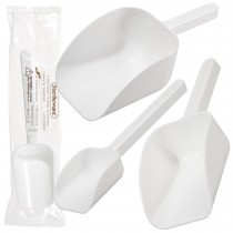 Sterileware Pharma Scoops - White