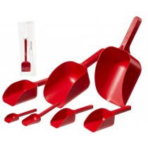 Sterileware Pharma Scoops – Red