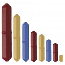 Color Octagon Spinbar Magnetic Stirring Bars