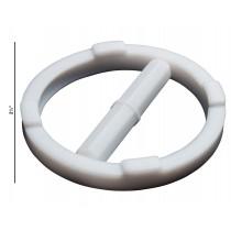 57.2mm Ring O.D Bel-Art Spinring Teflon Magnetic Stirring Bar; 50.8 x 8mm F37140-0020 White