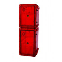 Bundled Secador Gas-Purge Desiccator Cabinets in Amber Color