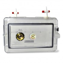 Secador Mini Gas-Purge Desiccator Cabinet