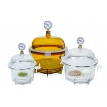 Lab Companion Round Style Vacuum Desiccators
