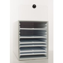 Microscope Slide Tray and Cabinet