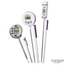 H-B DURAC Calibrated Electronic Stainless Steel Stem Thermometers