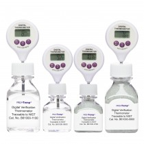 H-B Frio-Temp Calibrated Electronic Verification Lollipop Stem Thermometers for Refrigerators, Incubators and General Applications