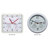 H-B DURAC Thermometer-Hygrometer Clocks