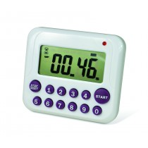H-B DURAC Single Channel Electronic Timer with 10-Button Direct Input and Certificate of Calibration