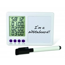 H-B DURAC 4-Channel Electronic Timer with Whiteboard and Certificate of Calibration