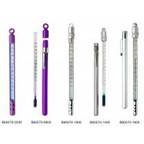 H-B Enviro-Safe® Environmentally Friendly Liquid-In-Glass Pocket Laboratory Thermometers