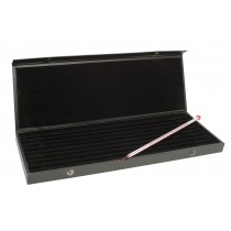H-B Velvet Lined Leatherette Liquid-in-Glass Thermometer Storage Case