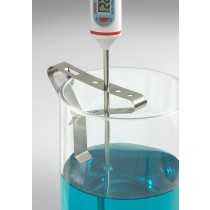 H-B Beaker Clip Liquid-in-Glass Thermometer Holder, Multi-Probe